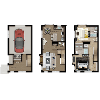 Townhomes Floor Plan